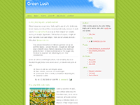 Green Lush for Blogger